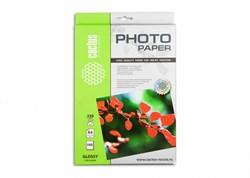 Фотобумага Cactus CS-GA4230100 A4, 230г/м2, 100л, белая глянцевая для струйной печати - фото 10234