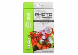 Фотобумага Cactus CS-GA6200100 A6/200г/м2/100л./белый глянцевое для струйной печати - фото 10288