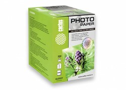 Фотобумага Cactus CS-GA6200500 10x15, 200г/м2, 500л., белый глянцевое для струйной печати - фото 10293