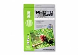 Фотобумага Cactus CS-MSA410020 A4, 100г/м2, 20л. матовое самоклей. для струйной печати - фото 10340