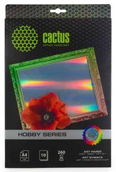 Фотобумага Cactus CS-DA426010M A4, 260г/м2, 10л. для струйной печати - фото 10352