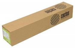 """Холст Cactus CS-MC340-61015 610мм-15м/340г/м2/белый для струйной печати втулка:50.8мм (2"""") - фото 10356"""