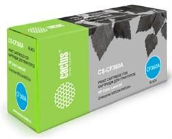 Лазерный картридж Cactus CS-CF360A (508A) черный для принтеров HP  Color LaserJet M552dn Enrerprise, M553dn Enrerprise, M553N Enrerprise, M553x Enrerprise (6000стр.) - фото 10362