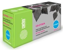 Лазерный картридж Cactus CS-CF363A (508A) пурпурный для принтеров HP Color LaserJet M552dn Enrerprise, M553dn Enrerprise, M553N Enrerprise, M553x Enrerprise (5000стр.) - фото 10365