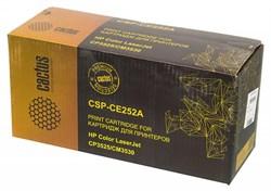 Лазерный картридж Cactus CSP-CE252A (HP 504A) желтый для принтеров HP  Color LaserJet CM3530, CM3530fs MFP, CP3520, CP3525, CP3525dn, CP3525n, CP3525x (10500 стр.) - фото 10374
