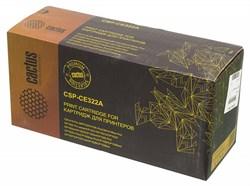 Лазерный картридж Cactus CSP-CE322A (HP 128A) желтый для принтеров HP COLOR LASERJET CM1415 PRO MFP, CM1415FN PRO, CM1415FNW PRO, CP1520 PRO SERIES, CP1521, CP1522N, CP1523, CP1525 PRO, CP1525N PRO, CP1525NW PRO, CP1526, CP1527, CP1528 (2200 СТР.) - фото 10377