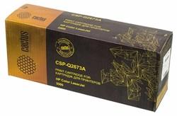 Лазерный картридж Cactus CSP-Q2673A (HP 309A) пурпурный для принтеров HP Color LaserJet 3500, 3500N, 3550, 3550N, 3700, 3700D, 3700DN, 3700DTN, 3700N (6000 стр.) - фото 10382