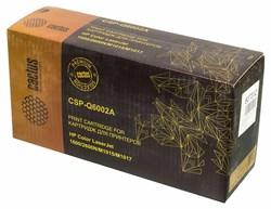 Лазерный картридж Cactus CSP-Q6002A (HP 124A) желтый для принтеров HP Color LaserJet 1600, 2600, 2600N, 2605, 2605DN, 2605DTN, CM1015, CM1015 MFP, CM1017, CM1017 MFP (2500 стр.) - фото 10384