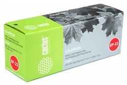 Лазерный картридж Cactus CS-EP22S (EP-22) черный для принтеров Canon LBP 22, 22X, 250, 350, 800, 810, 1110, 1110sE, 1120 Laser Shot, 5585, 5585i, P420 (2500 стр.) - фото 10406
