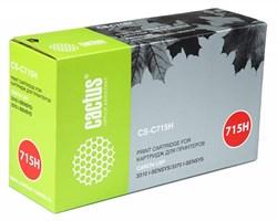 Лазерный картридж Cactus CS-C715H (№715H) черный для принтеров Canon LBP 3310 i-Sensys, 3370 i-Sensys (7000 стр.) - фото 10407