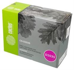 Лазерный картридж Cactus CS-D203S (MLT-D203S) черный для принтеров Samsung ProXpress M3820, M3820D, M3820ND, M3870, M3870FD, M3870FW, M4020, M4020ND, M4070, M4070FR (3000 стр.) - фото 10417