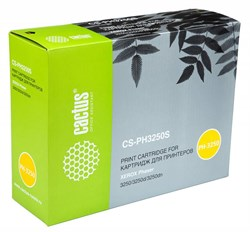 Лазерный картридж Cactus CS-PH3250S (106R01373) черный для принтеров Xerox Phaser 3250, 3250d, 3250dn (3500 стр.) - фото 10456