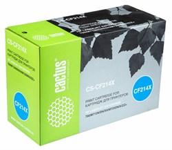 Лазерный картридж Cactus CS-CF214X (HP 14X) черный для принтеров HP LaserJet M712 Pro 700, M712dn Pro 700, M712n Pro 700, M712xh Pro 700, M725 Enterprise 700, M725dn Enterprise 700 (CF066A), M725f Enterprise 700 (CF067A) (17500 стр.) - фото 10499