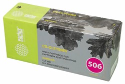 Тонер Картридж Cactus CS-CLT-Y506S желтый для Samsung CLP 680 CLX6260, 6260FD, 6260FR (1500стр.) - фото 10522