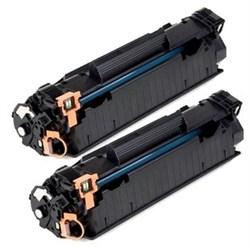 Лазерный картридж Cactus CS-CF283XD (HP 83X) черный для принтеров HP LaserJet M200 Series, M201DW Pro (CF456A), M202N Pro (C6N20A), M225 Pro MFP (2 x 2200 стр.) - фото 10641