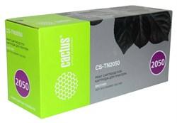 Лазерный картридж Cactus CS-TN2050 (TN2050 Bk) черный для Brother DCP 7010, 7025, MFC 7220, 7420 (2'500 стр.) - фото 10762