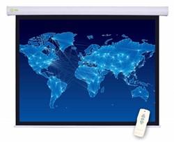 Экран Cactus 127x127см Motoscreen CS-PSM-127X127 1:1 настенно-потолочный рулонный белый (моторизованный привод) - фото 10830