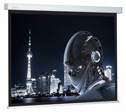 """Экран Cactus Wallscreen CS-PSW-127X127 67"""" 1:1 настенно-потолочный рулонный белый - фото 10832"""