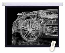 Экран Cactus 150x150см Motoscreen CS-PSM-150x150 1:1 настенно-потолочный рулонный (моторизованный привод). - фото 10835