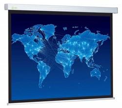 """Экран Cactus Wallscreen CS-PSW-150x150 84"""" 1:1 настенно-потолочный рулонный белый - фото 10837"""