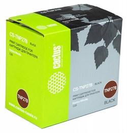 Лазерный картридж Cactus CS-TNP27B (TNP-27K) черный для принтеров Konica Minolta C25 (6000 стр.) - фото 10956