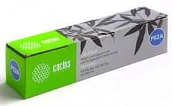 Лазерный картридж Cactus CS-P92A (KX-FAT92A) черный для принтеров Panasonic KX MB263, MB263ru, MB763, MB763ru, MB773, MB773ru (2000 стр.) - фото 11026