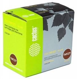 Лазерный картридж Cactus CS-TNP22Y (TNP-22Y) желтый для принтеров Konica Minolta C35, C35P (6'000 стр.) - фото 11048