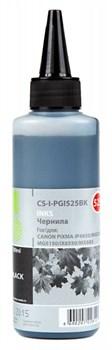 Чернила Cactus CS-I-PGI525BK черный (100мл) CANON PIXMA iP4850, MG5250, MG5150, iX6550 - фото 11144