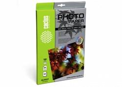 Фотобумага Cactus CS-GA418050 A4, 180г/м2, 50л., белый глянцевое для струйной печати - фото 11238