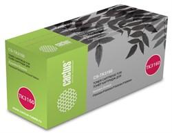 Тонер Картридж Cactus CS-TK3160 черный (12500 стр.) для Kyocera Ecosys P3045dn, P3050dn, P3055dn, P3060dn - фото 11603