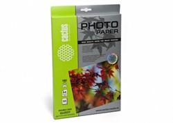 Фотобумага Cactus CS-GA418050DS A4, 180г/м2, 50л., белый глянцевое для струйной печати - фото 11795