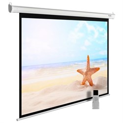 """Экран Cactus MotoExpert CS-PSME-220x138-WT 100"""" 16:10 настенно-потолочный рулонный белый (моторизованный привод) - фото 11845"""