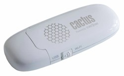 Диск Flash Cactus iShowDrive (СACTUS_ISHOWDRIVE_8GB) 8Gb white - фото 11847