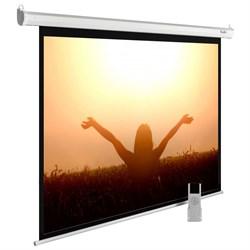 """Экран Cactus MotoExpert CS-PSME-220X165-WT 110"""" 4:3 настенно-потолочный рулонный белый (моторизованный привод) - фото 11876"""