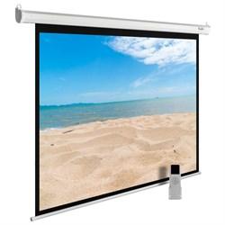 """Экран Cactus MotoExpert CS-PSME-240X180-WT 120"""" 4:3 настенно-потолочный рулонный белый (моторизованный привод) - фото 11878"""