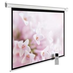 """Экран Cactus MotoExpert CS-PSME-240X240-WT 130"""" 1:1 настенно-потолочный рулонный белый (моторизованный привод) - фото 11898"""