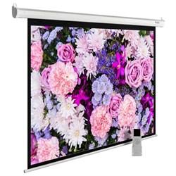 """Экран Cactus MotoExpert CS-PSME-420x315-WT 207"""" 4:3 настенно-потолочный рулонный белый (моторизованный привод). - фото 11902"""