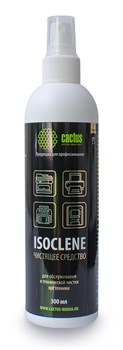 Спирт для очищения и дезинфекции техники Cactus CS-ISOCLENE300 изопропиловый 300 мл. - фото 12126
