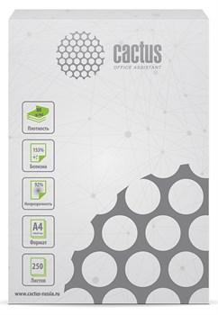 Бумага офисная Cactus CS-OPB-A480250 A4, 80г/м2, 250 листов, белый CIE153% - фото 12439