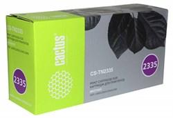 Лазерный картридж Cactus CS-TN2335 (TN-2335) черный для принтеров Brother DCP L2500, L2520, L2540, L2560; HL L2300, L2340, L2360, L2365; MFC L2700, L2720, L2740 (1'200 стр.) - фото 12508