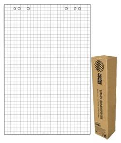 Блок бумаги для флипчартов Cactus CS-PFC20S-5 клетка 20 лист. (упак. 5 шт.) - фото 12784