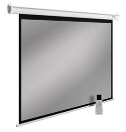 """Экран Cactus SIlverMotoExpert CS-PSSME-240X150-WT 112"""" 16:10 настенно-потолочный рулонный светло-серый (моторизованный привод) - фото 12931"""