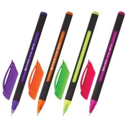 """Ручка шариковая масляная Brauberg """"Extra Glide Soft Color"""", синяя, линия письма 0,35 мм  - фото 13258"""