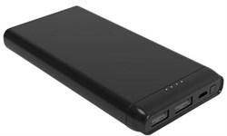 Мобильный аккумулятор Cactus CS-PBFSFT-10000 Li-Pol 10'000mAh 1A+2.4A графит 2xUSB - фото 13366