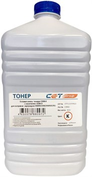 Тонер Cet CE08-K/CE08-D CET111039622 черный (в компл.:девелопер) для принтера Xerox AltaLink C8045, 8030, 8035; WorkCentre 7830 (бутылка 622 гр.) - фото 13856