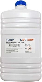 Тонер Cet PK207 OSP0207M-500 пурпурный для принтера KYOCERA Ecosys M8124cidn, 8130cidn (бутылка 500 гр.) - фото 13902