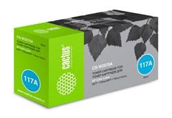 Лазерный картридж Cactus CS-W2070A (HP 117A) черный для HP Color Laser 150a, 150nw, 178nw MFP, 179fnw MFP (700 стр.) - фото 13988