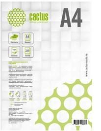 Бумага офисная Cactus CS-OP-A480250 A4, 80г/м2, 250 листов, белый CIE146% - фото 13996