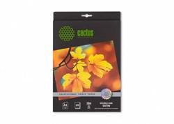 Фотобумага Cactus CS-SMA428020DS A4/280г/м2/20л./белый шелковисто-матовое сатин для струйной печати - фото 6855