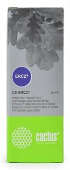 Матричные картриджи Cactus CS-ERC27 черный для Epson ERC 27 - фото 6908